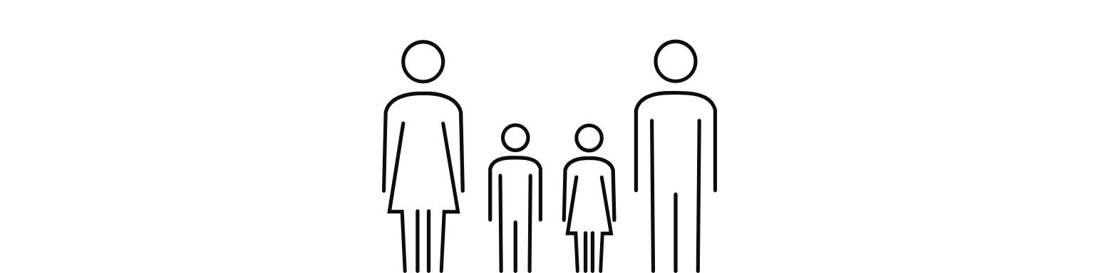 Rodinný balíček - 2 děti